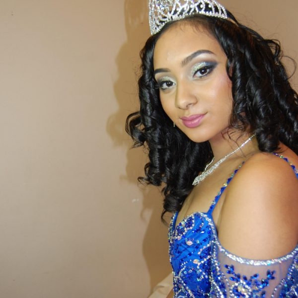 Sweet 16 princess on her special day - hair and makeup by Naz Beauty