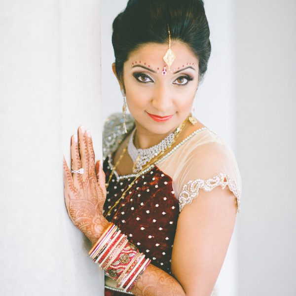 Indian bridal hair and makeup in Greenwich, CT