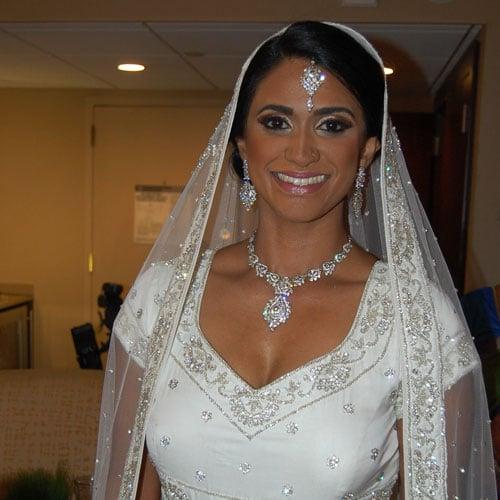 Bridal makeup in Hilton Pearl River