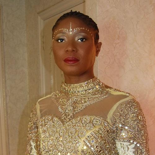LGBTQ wedding at the Manor in West Orange, NJ - bridal makeup