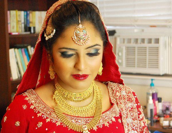 Bridal hair and makeup in Long Island