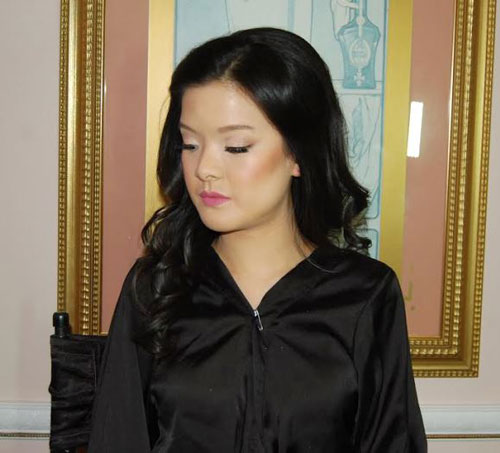 Bridal makeup at Leonard