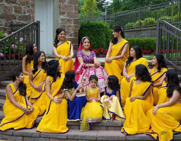 Indian bridal party - the Grove, NJ