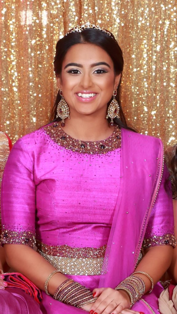Pretty in pink - sweet 16 hair and makeup by Naz Beauty