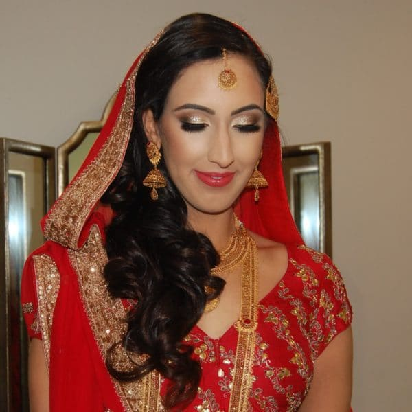Pakistani bridal makeup in Spring Valley, NY