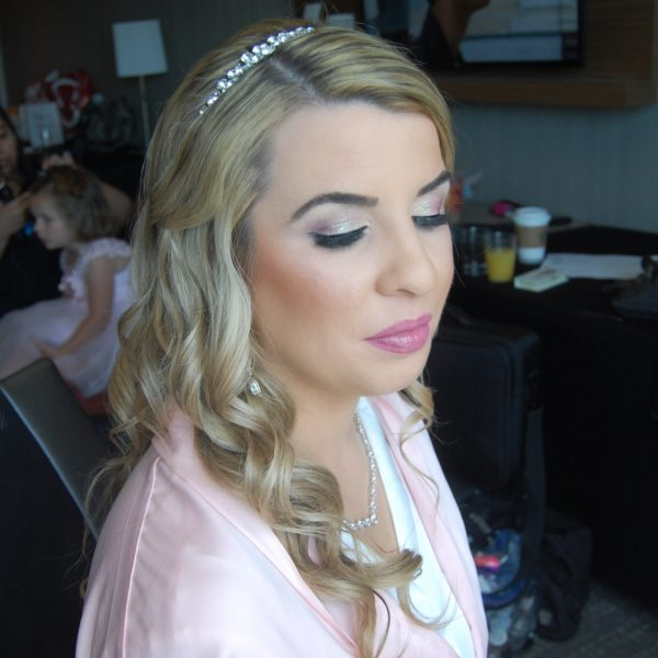 Bridal Makeup in Jericho Terrace - June Wedding