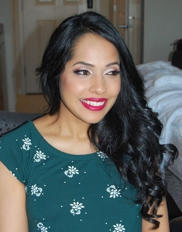 This mother-to-be is glowing - hair and makeup by Naz Beauty - at Mint in Garden City, NY